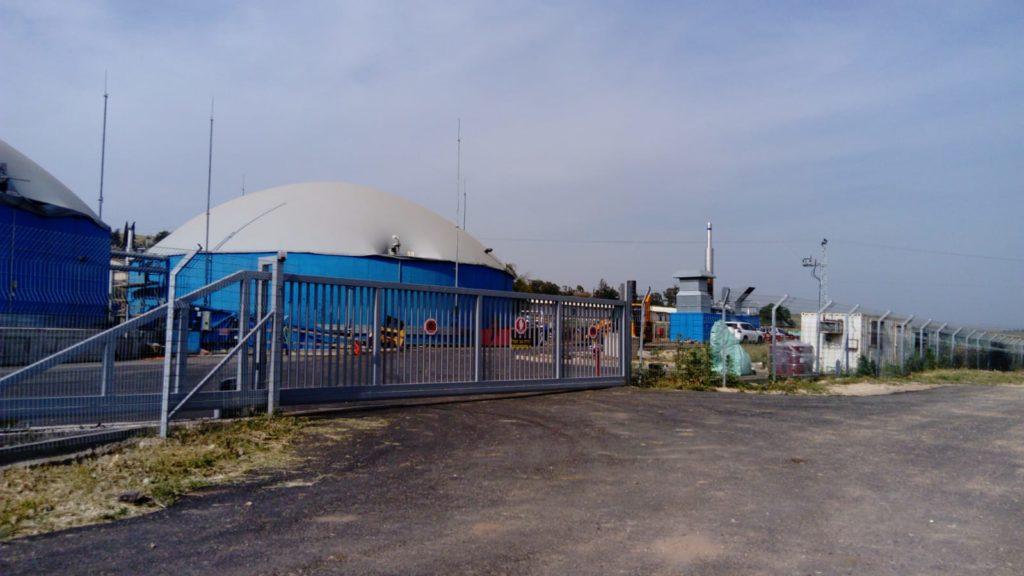 תחנת כח לייצור חשמל מזבל פרות